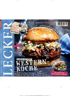 Yippie-Ya-Yeah - Western-Küche. Gefunden in: Lecker, Nr. 11/2014