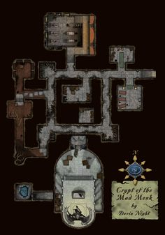 Crypt of the Mad Monk