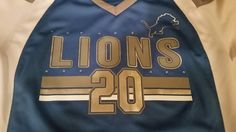 Womens Small Detroit Lions Barry Sanders Jersey #20 Hall of Fame by Majestic   | Sports Mem, Cards & Fan Shop, Fan Apparel & Souvenirs, Football-NFL | eBay!