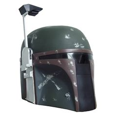 This Star Wars Boba Fett Collector's Helmet looks amazing. He's everyone's favorite bounty hunter and now you can display his helmet in your collection and admire it or wear it and have even more fun.  The Star Wars Boba Fett Helmet is made from high quality injected plastic. An