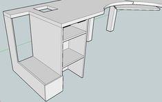 PDF Plans Corner Desk Construction Plans Download computerized ...