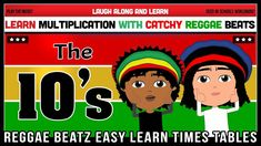 10 Times Table Song (Reggae Beatz) Learn to Fun & Catchy Songs! 10 Times Table, Reggae, How To Memorize Things, Album, Songs, Learning, Fun, Studying, Teaching