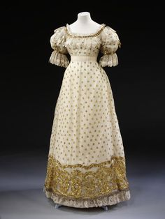 1820'S BALL GOWN | Ball Gown, circa 1820