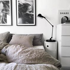 Living Room Bedroom, Bedroom Decor, Living Styles, Master Bedroom Design, Home Decor Store, Minimalist Bedroom, Beautiful Bedrooms, House Rooms, Home Decor Inspiration
