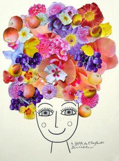 Cela fait des mois que je porte cette idée dans ma tête mais elle avait visiblement besoin de mûrir...ou plutôt de fleurir:) J'ai pré...