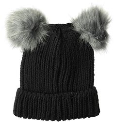 2db76c8817527 D amp Y Women s David  amp  Young Double Pom Beanie with Cuff ...