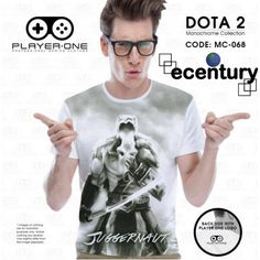PLAYER.ONE DOTA 2 Gaming T-Shirt MC068 - JUGGERNAUT