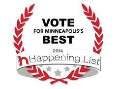 Vote for Caravan Vet as Minneapolis' Best Vet!  We want to be HAPPENING!!  Tell everyone you know!