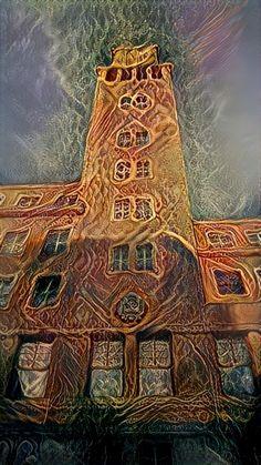 Kris Mo • Deep Dream Generator Tower, Deep, Building, Travel, Rook, Viajes, Computer Case, Buildings, Destinations