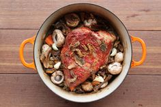 brisket with caramelized onions and porcini mushrooms #makeahead # ...