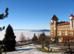 Twas my beautiful school & dorm in Caux, Switzerland...wishing to go back there soon to visit with my family