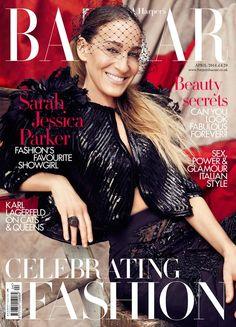 Harper's Bazaar UK Abril 2014   Sarah Jessica Parker por Alexi Lubomirski