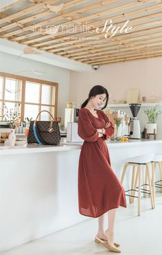 Source by outfits hijab Long Skirt Fashion, Korean Fashion Dress, Korean Dress, Korea Fashion, Asian Fashion, Fashion Dresses, Stylish Work Outfits, Classy Outfits, Frocks And Gowns