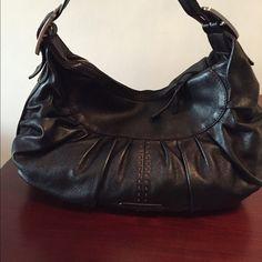 Cole Haan black leather hobo shoulder bag. Like new. Cole Haan Bags Shoulder Bags