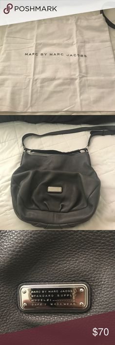 marc by marc jacobs purse excellent condition! no visible flaws, pebbled leather. has a handbag strap as well as crossbody strap. clean inside. dustbag included. medium - large sized Marc By Marc Jacobs Bags Shoulder Bags