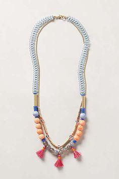 Multi color necklace Anthro
