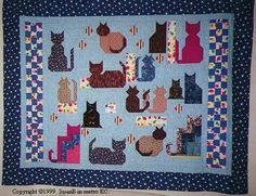 Free Cat Quilt Block Patterns  http://www.handcraftingwithlove.net/quilt/myquilts.html