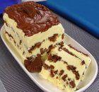 Torta de Sorvete com Nutella