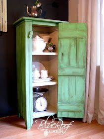DIY: Beadboard Cabinet - She also has a DIY trellis I would love to add to my shed/chicken coop