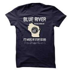 Blue River It's Where My Story Begins T-Shirts, Hoodies. SHOPPING NOW ==►…