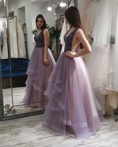 Charming Prom Dress,Tulle Prom Gown,Beading Evening Dress,A-Line Prom Gown 0102 Source by dresses muslim Prom Gowns Vintage, Prom Gowns Elegant, Long Prom Gowns, Evening Dresses, Ombre Prom Dresses, Tulle Prom Dress, Party Wear Dresses, Dress Muslim Modern, Muslim Gown