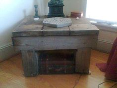 Another rustic table.