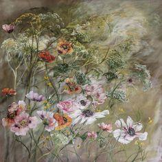 PAINTING – Claire BASLER Paintings I Love, Painting Prints, Floral Paintings, Claire Basler, Painted Leaves, Art File, Botanical Art, Art Techniques, Art Blog