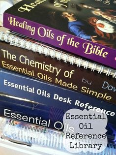 Essential Oil Library --