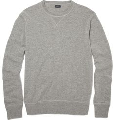 J.CrewCashmere Crew Neck Sweatshirt|MR PORTER