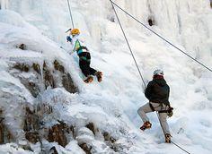 Ouray Colorado Ice Climbing Adventure