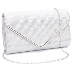 ec5ebdc1820 Womens Shining Envelope Clutch Purses Evening Bag Handbags For Wedding and  Party.