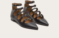 Black - Sienna Buckle Ballet
