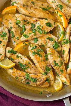 Skillet Citrus Chicken Tenders | Cooking Classy