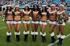 It's pretty simple. Each day we bring our fans a look at cheerleaders from around the country. Up today, the Jacksonville Jaguars' cheerleaders.