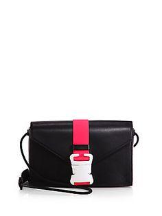 Christopher Kane Safety Buckle Classic Shoulder Bag