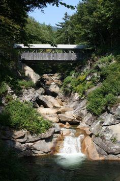 Flume Gorge White Mountain, New Hampshire