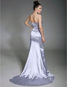 LIZA - Vestido de Festa em Cetim - BRL R$ 341,97