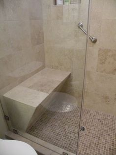 30 Irreplaceable Shower Seats Design Ideas
