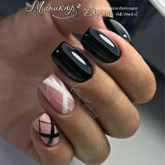 Here are some hot nail art designs that you will definitely love and you can make your own. You'll be in love with your nails on a daily basis. Get Nails, Fancy Nails, Love Nails, Pink Nails, Black Nails, Fabulous Nails, Gorgeous Nails, Pretty Nails, Manicure E Pedicure