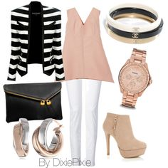 Blazer. Summer outfits. Fashion for women over 40. White jeans.