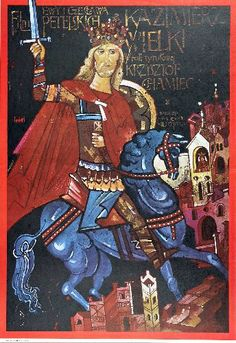 """Waldemar Świerzy """"Kazimierz Wielki"""""""