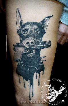 doberman tattoo designs - Google'da Ara