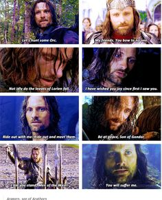 "Viggo Mortenson and some of the best ""Aragorn quotes"""