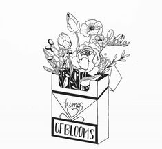 The post Bold Black Botanical Drawings Bash Back at Addiction appeared first on Woman Casual - Tattoos And Body Art Art Drawings Sketches, Cute Drawings, Tattoo Drawings, Tattoo Sketches, Simple Doodles Drawings, Tumblr Drawings, Tumblr Art, Doodle Art Journals, Nature Drawing