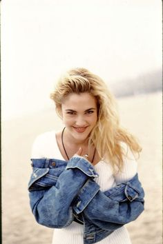 Old school Drew Barrymore