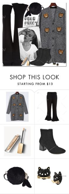 """""""Bear Print"""" by oshint ❤ liked on Polyvore featuring Burberry and Betsey Johnson"""