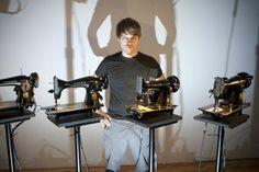 Des machines à coudre Singer qui font de la musique électro vous avez déjà entendu ?