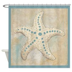 Starfish Shower Curtain on CafePress.com