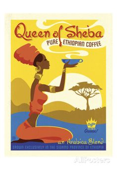 Queen of Sheba Poster by Anderson Design Group at AllPosters.com