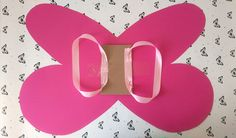 Flügel für die kleinen Feen - wir haben uns für Feenflügel in knalligem Pink entschieden.